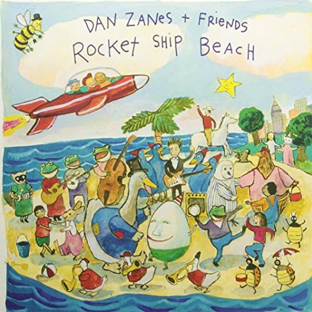 Dan Zanes & Friends ROCKET SHIP BEACH Vinyl Record