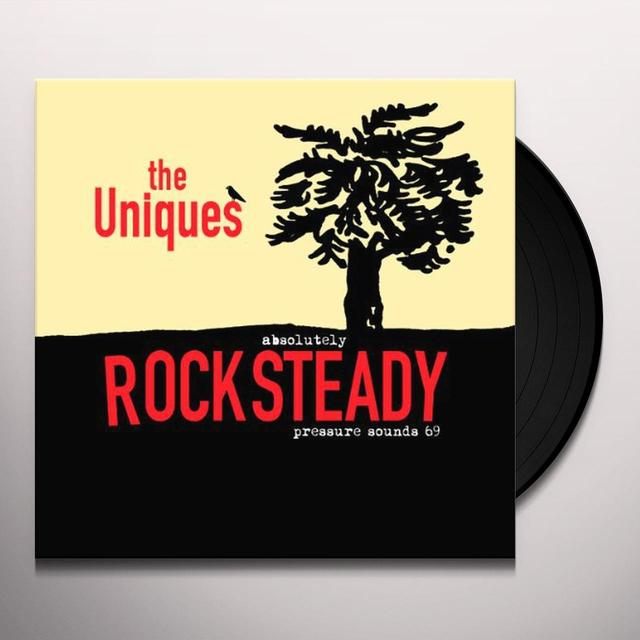 Uniques ABSOLUTELY ROCKSTEADY Vinyl Record