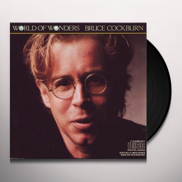 Bruce Cockburn WORLD OF WONDERS Vinyl Record