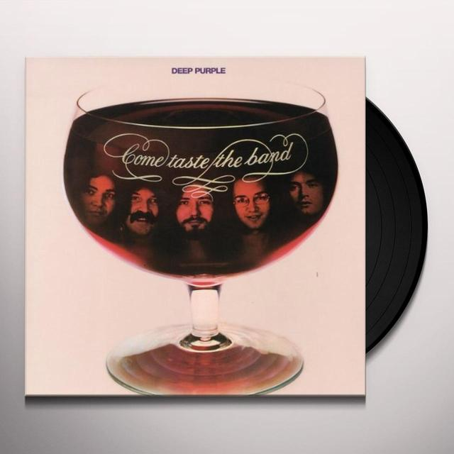 Deep Purple COME TASTE THE BAND (BONUS TRACKS) Vinyl Record - Remastered