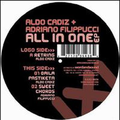 Aldo Cadiz & Adriano Filippucci ALL IN ONE Vinyl Record