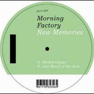 Morning Factory NEW MEMORIES Vinyl Record