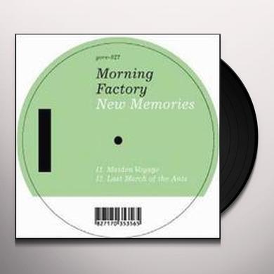 Morning Factory NEW MEMORIES (EP) Vinyl Record