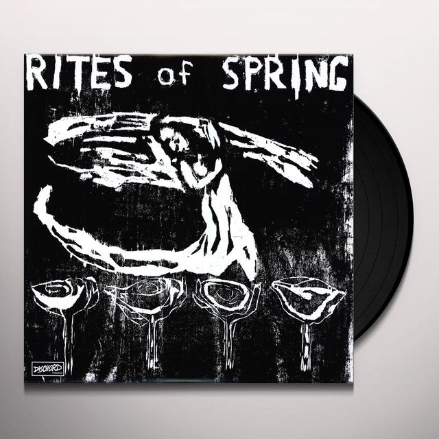 Rites Of Spring END ON END Vinyl Record - Remastered, MP3 Download Included, Reissue