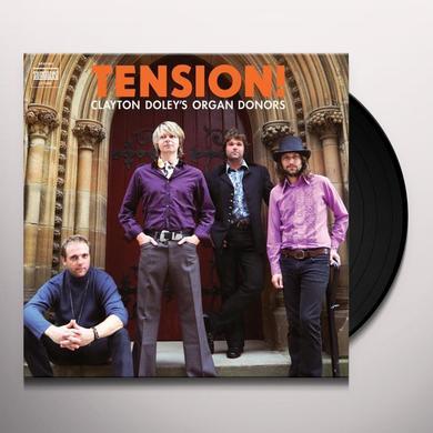 Clayton Doley'S Organ Donors TENSION Vinyl Record - 180 Gram Pressing