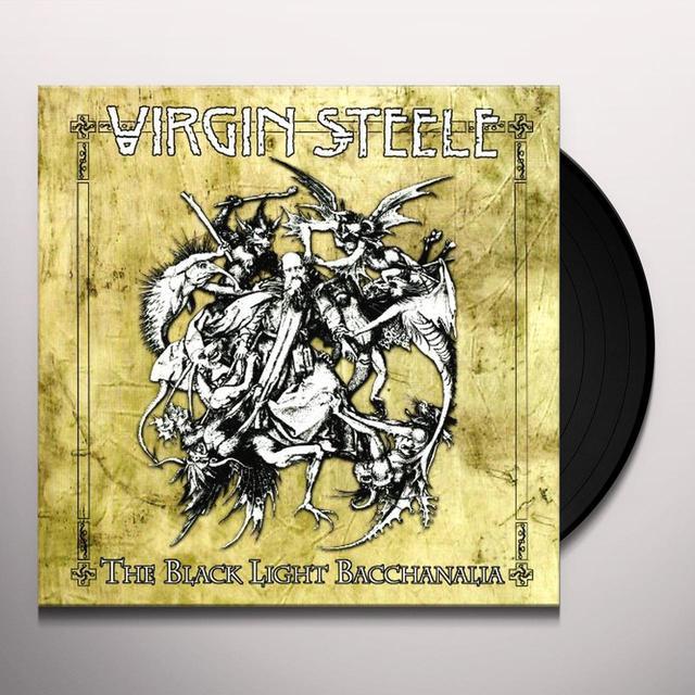 Virgin Steele BLACK LIGHT BACCHANALIA Vinyl Record