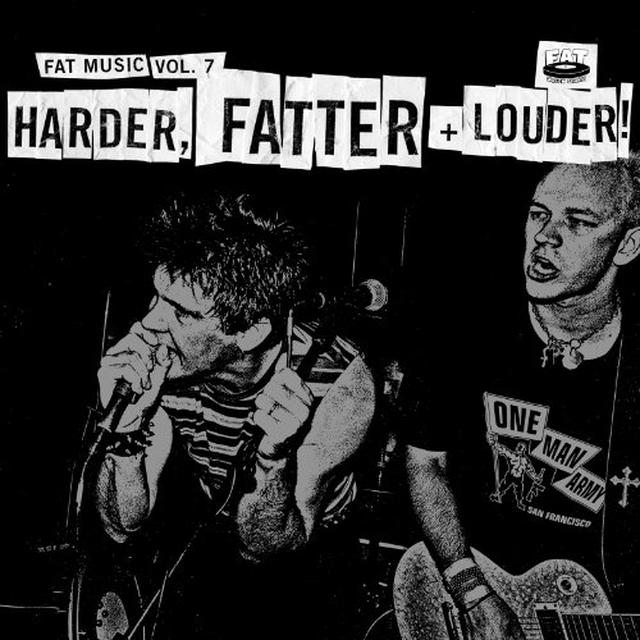 FAT MUSIC 7: HARDER FATTER & LOUDER / VARIOUS Vinyl Record