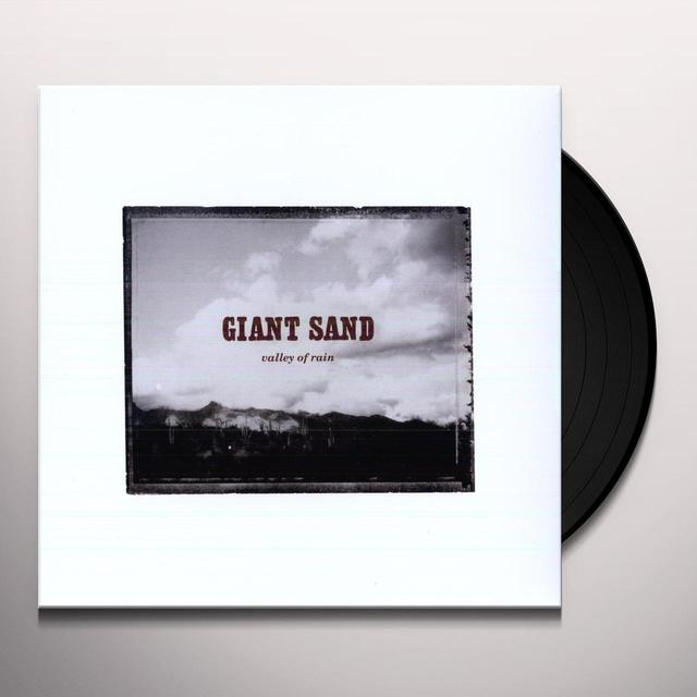 Giant Sand VALLEY OF RAIN Vinyl Record