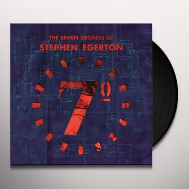 SEVEN DEGREES OF STEPHEN EGERTON Vinyl Record