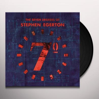 SEVEN DEGREES OF STEPHEN EGERTON Vinyl Record