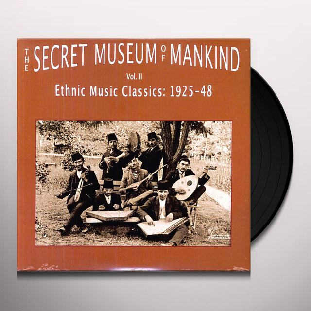 SECRET MUSEUM OF MANKIND 2: ETHNIC MUSIC / VARIOUS Vinyl Record