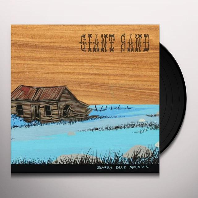 Giant Sand BLURRY BLUE MOUNTAIN Vinyl Record