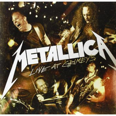 "Metallica LIVE AT GRIMEY'S (10"") Vinyl Record"