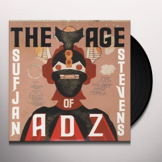 Sufjan Stevens AGE OF ADZ Vinyl Record