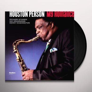 Houston Person MY ROMANCE Vinyl Record - 180 Gram Pressing