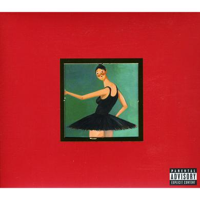 Kanye West MY BEAUTIFUL DARK TWISTED FANTASY CD