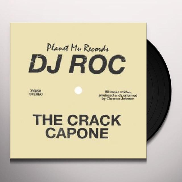 Dj Roc CRACK CAPONE Vinyl Record