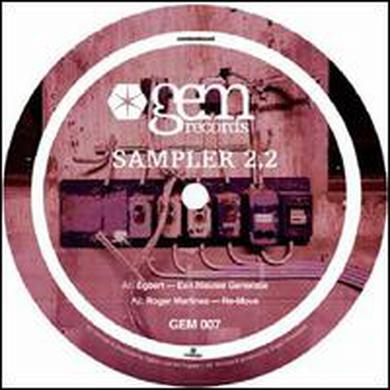 Gem Sampler 2.2 / Various (Ep) GEM SAMPLER 2.2 / VARIOUS Vinyl Record