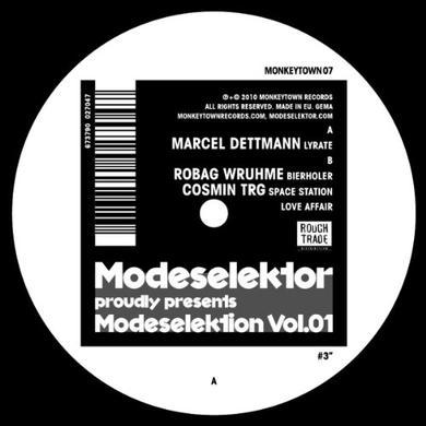 Modeselektor MODESELEKTION 1 NUMBER 3 Vinyl Record