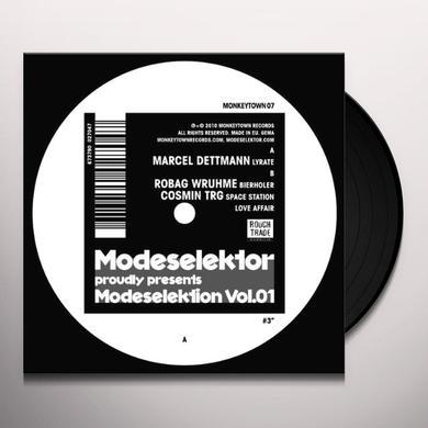Modeselektor MODESELEKTION 1 NUMBER 3 (EP) Vinyl Record