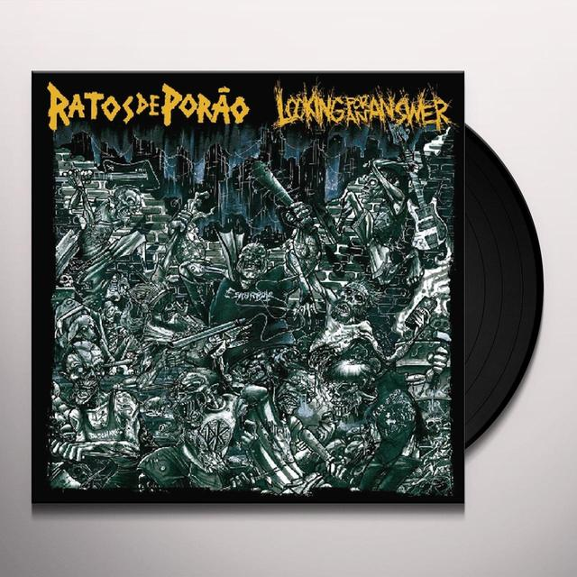 Ratos De Porao / Looking For An Answer SPLIT (Vinyl)