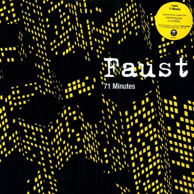 Faust 71 MINUTES Vinyl Record - 180 Gram Pressing