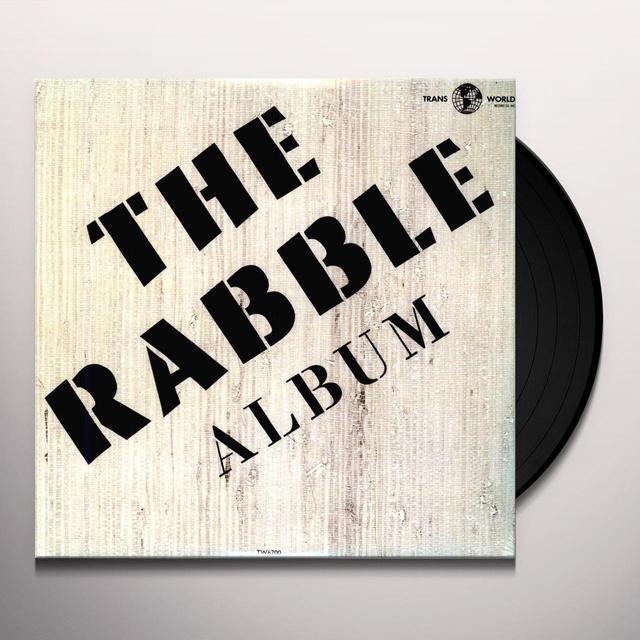 RABBLE ALBUM Vinyl Record - Limited Edition, 180 Gram Pressing