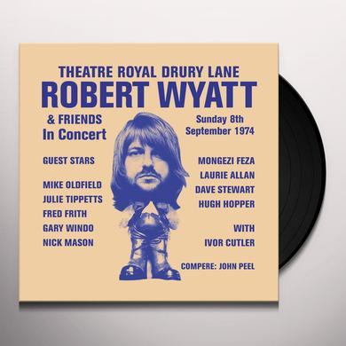 Robert Wyatt THEATRE ROYAL DRURY LANE Vinyl Record - w/CD, Limited Edition, Reissue