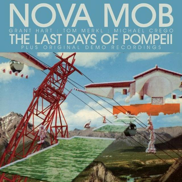 Nova Mob LAST DAYS OF POMPEII Vinyl Record - Special Edition, Digital Download Included, Reissue