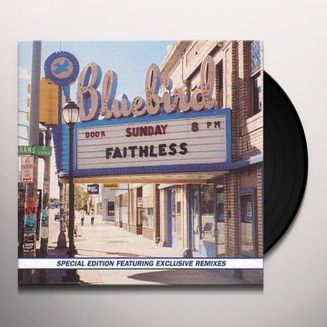 Faithless SUNDAY 8 PM Vinyl Record