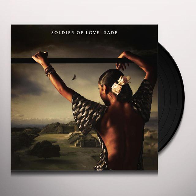 Sade SOLDIER OF LOVE Vinyl Record