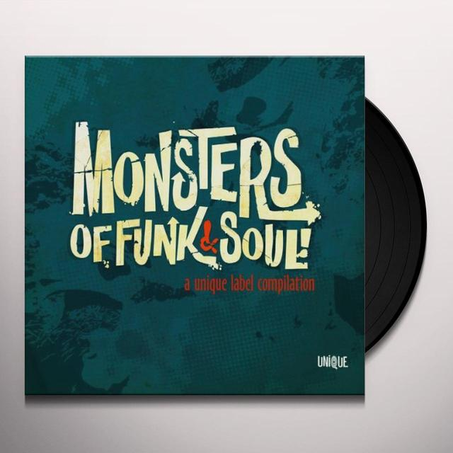 MONSTERS OF FUNK & SOUL / VARIOUS Vinyl Record