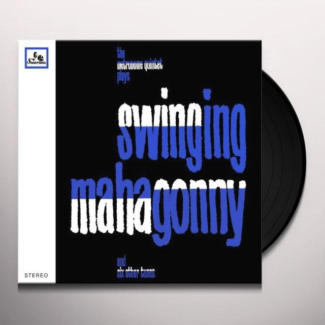 Metronome Quinteet PLAYS SWINGING MAHAGONNY Vinyl Record