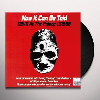 Devo NOW IT CAN BE TOLD Vinyl Record