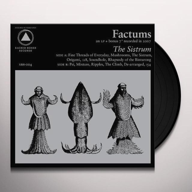 Factums SISTRUM Vinyl Record