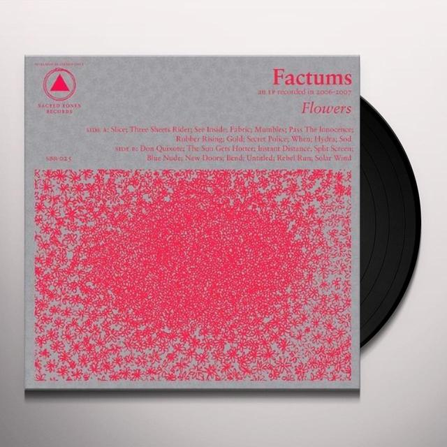 Factums FLOWERS Vinyl Record