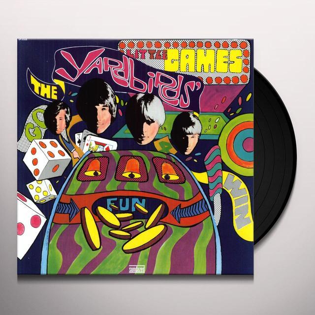 The Yardbirds LITTLE GAMES Vinyl Record