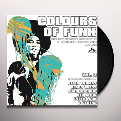 COLOURS OF FUNK 2 / VARIOUS Vinyl Record