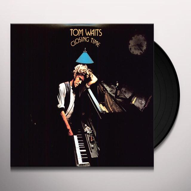 Tom Waits CLOSING TIME Vinyl Record - 180 Gram Pressing