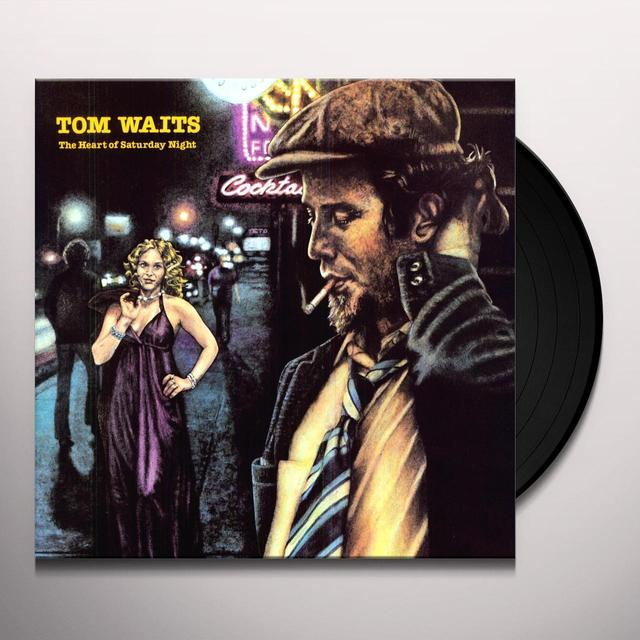 Tom Waits HEART OF SATURDAY NIGHT Vinyl Record