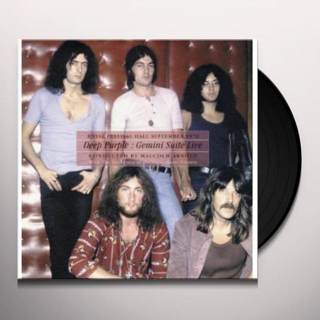 Deep Purple GEMINI SUITE LIVE Vinyl Record