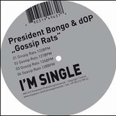 Bongo / Dop GOSSIP RATS (EP) Vinyl Record