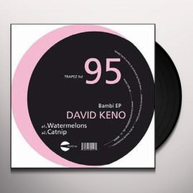 David Keno BAMBI Vinyl Record - Limited Edition