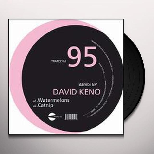 David Keno BAMBI Vinyl Record - Limited Edition