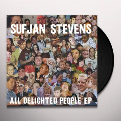 Sufjan Stevens ALL DELIGHTED PEOPLE Vinyl Record