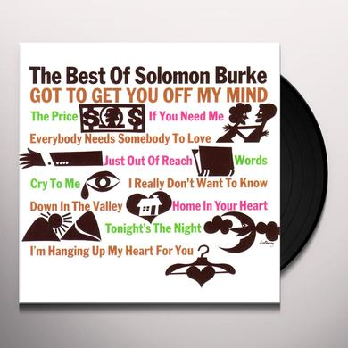 BEST OF SOLOMON BURKE Vinyl Record - 180 Gram Pressing
