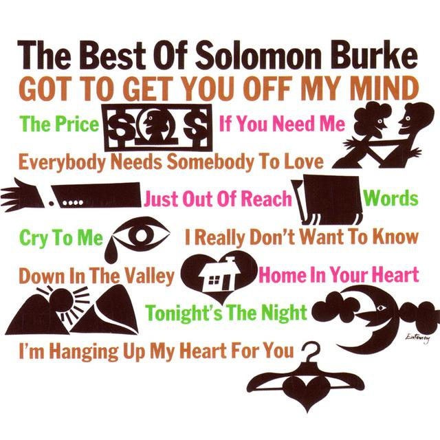 BEST OF SOLOMON BURKE Vinyl Record - 180 Gram Pressing