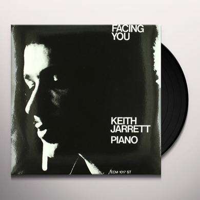 Keith Jarrett FACING YOU Vinyl Record - 180 Gram Pressing