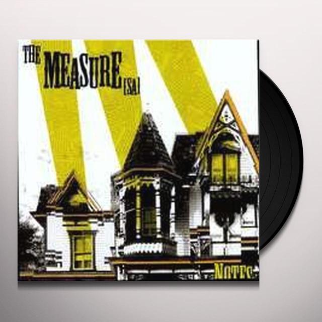 Measure (Sa) NOTES Vinyl Record - Digital Download Included