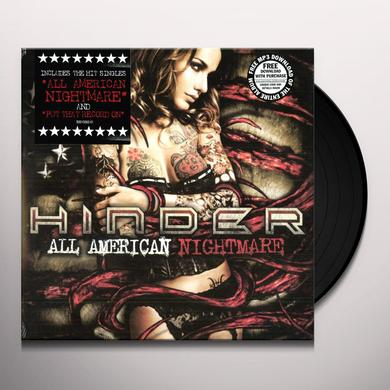 Hinder ALL AMERICAN NIGHTMARE Vinyl Record